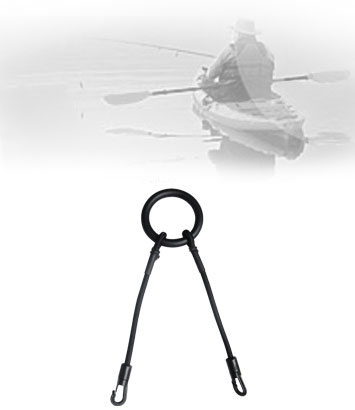 KE9 Round Rigging Ring with Bungee and Hooks