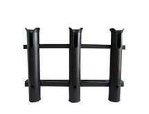 KA5-3A Three Pole Deck Mount Rod Holder